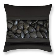 Rock Apple Throw Pillow