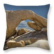 Rock Arch Near Joshua Tree No 0294 Throw Pillow