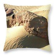 Rock Ascending Throw Pillow