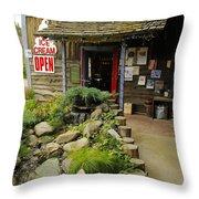 Rock Creeks Trading Post Throw Pillow