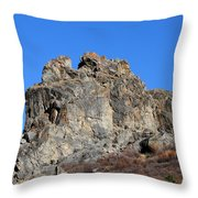 Rock Formation Throw Pillow