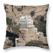 Rock Palace Throw Pillow