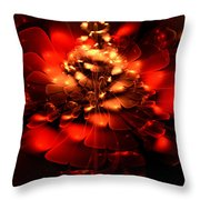 Rock Rose Throw Pillow