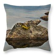 Rockery Throw Pillow