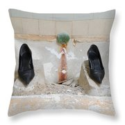 Rocket Woman Throw Pillow