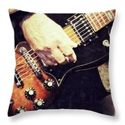 Rockn  Throw Pillow