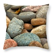 Rocks Throw Pillow