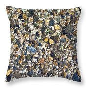 Rocky Bottoms Throw Pillow