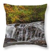 Rocky Cascade Throw Pillow