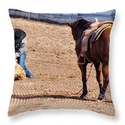 Rodeo 11 Throw Pillow
