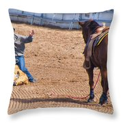 Rodeo 12 Throw Pillow