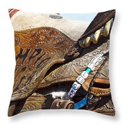 Rodeo 17 Throw Pillow