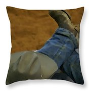 Rodeo Break Throw Pillow