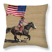 Rodeo Colors - A Throw Pillow