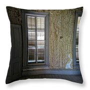 Roe - Graves House Interior - Bannack Ghost Town Throw Pillow