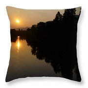Rogue September Sunrise 2 Throw Pillow