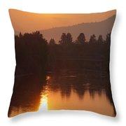 Rogue September Sunrise 3 Throw Pillow