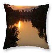 Rogue September Sunrise Throw Pillow