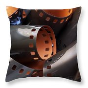 Roll Of Film Throw Pillow