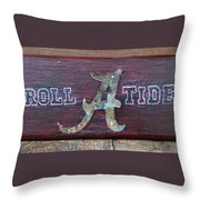Roll Tide - Medium Throw Pillow
