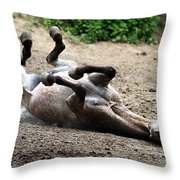 Rollin In The Dirt Throw Pillow