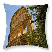 Roman Coliseum Throw Pillow