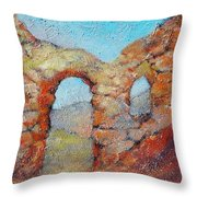 Roman Relicts 21 Throw Pillow