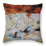 Roman Relicts Abstract 5 Throw Pillow