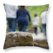 Roman Ruins In Chester Throw Pillow