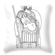 Rome: Army General Throw Pillow