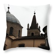Rome Church Throw Pillow
