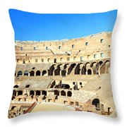 Rome Coliseum Throw Pillow