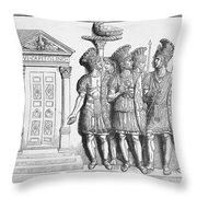 Rome: Praetorian Guards Throw Pillow