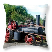 Romley Powering The Saw Throw Pillow