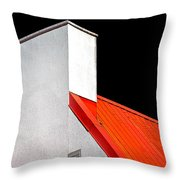 Roof And Chimney Throw Pillow