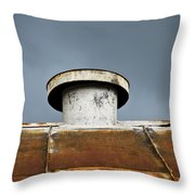 Rooftop Vent Throw Pillow