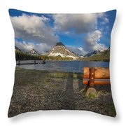 Room To View Throw Pillow