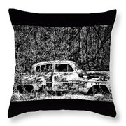 Roots That Drive Throw Pillow