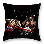 Rope A Dope Throw Pillow