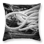 Ropes Throw Pillow