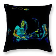 Finding The Cosmic Notes 2 Throw Pillow