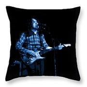 R G Art Blue Throw Pillow