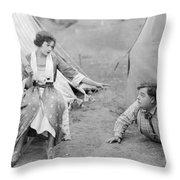 Roscoe Fatty Arbuckle Throw Pillow
