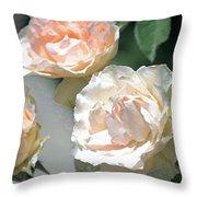 Rose 125 Throw Pillow