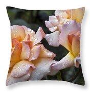 Rose Flower Series 7 Throw Pillow