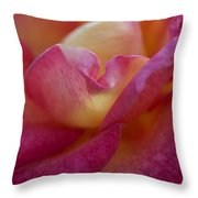 Rose Memories Throw Pillow