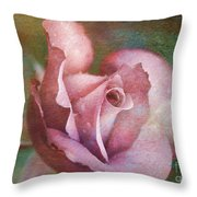 Rose Of Romance Throw Pillow