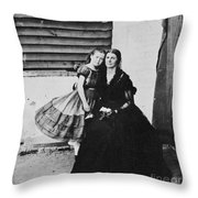Rose Oneal Greenhow Throw Pillow