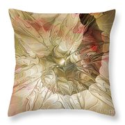 Rose Petal Highway Throw Pillow