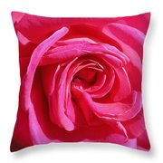 Rose Rose Throw Pillow